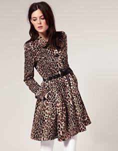 Leopard print - super cute - jacket, I think..