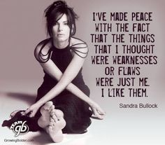 Wise words by Sandra Bullock. Now that I am in my I am grateful for the wisdom that I have attained to be able to be at peace with who I am. Sandra Bullock, Great Quotes, Quotes To Live By, Bad Girl Quotes, Time Quotes, Daily Quotes, Quotes Quotes, Motivational Quotes, Inspirational Quotes