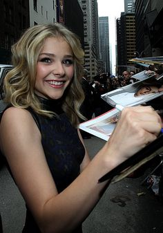 Love-loves this pic... of Chloe :-) #ChloeMoretz #fashion #movies #Hick and #DarkShadows  Chloe Moretz Gets Ready To Floor It In The Fast Lane (PHOTOS)