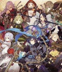 THE BEST GAMES FOR YOU: SINoALICE ーシノアリスー  New Game Android and IOS