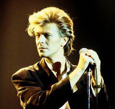 David Bowie in Toronto, 1987, by Denis O'Regan