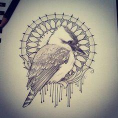 Znalezione obrazy dla zapytania sketch bird tattoo