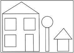 Build a house math/shapes game