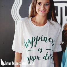 Happiness is Kappa Delta soft tee | #LoveTheLab houndstoothpress.com…