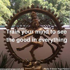 La mente... Igual que el cuerpo se entrena Ven a entrenar tu mente a nuestras clases de yoga y tendrás un día a día más feliz ☺️ #trainyourmind #seethegood #happiness #yoga #mindtraining #yoga #shiva #shivanataraja #nataraja #polanco #polancodf #greenyogapolanco #greenyoga #greenyogamexico