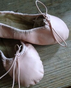 Vintage French Ballet Slippers FleaingFrance Brocante Society