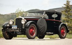 1927 Stutz Model AA Four-Passenger Speedster - (Stutz Motor Co. Indianapolis, Indiana 1913-1935)