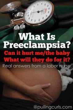 What is Preeclampsia? » Preeclampsia and Eclampsia » Pulling Curls