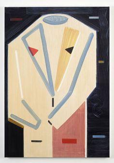 Alistair Frost, one/word/look/balcon, 2008,  Oil on Canvas (courtesy of Dicksmith (Yep) Gallery, London)