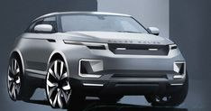 Land Rover e v o q u e Car Design Sketch, Car Sketch, Exterior Wall Cladding, Exterior Stairs, Street Racing Cars, Jaguar Land Rover, Suv Cars, Futuristic Cars, Abandoned Cars