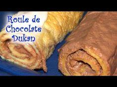 Roulé de Chocolate Dukan - Dukan Chocolate Cake Roll - Receta Fase Crucero - YouTube