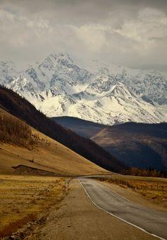 Altai Mountains, Siberia, Russia.