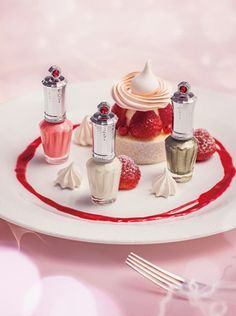 Jill Stuart My Dear Strawberry Collection: Nail Lacquer R