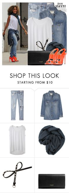 """""""1096. Celebrity Style: Jada Pinkett Smith"""" by amber-nicki-rose ❤ liked on Polyvore featuring rag & bone/JEAN, Current/Elliott, Helmut by Helmut Lang, Brunello Cucinelli, Red Herring, Coach and Reed Krakoff"""