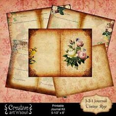 Creative Art'n'Soul Printables