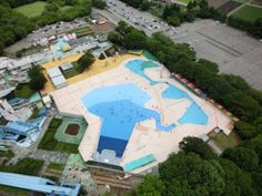 一万人プールがオープンしました!! (井頭公園)