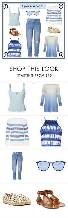 """""""I pick number 3."""" by kimmie-plus2 ❤ liked on Polyvore featuring Marques'Almeida, Joie, Barbour, Boohoo, WithChic, Ray-Ban, Nasty Gal and Michael Kors"""