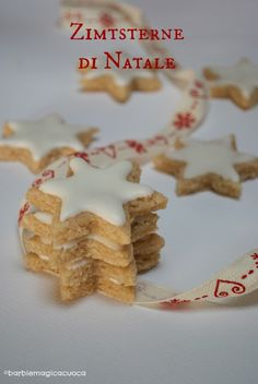 Zimtsterne - stelline di natale alle mandorle e cannella gluten free