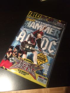 Metal Hammer Magazine with BABYMETAL article