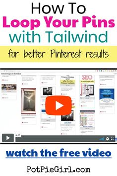 How To Loop Pins With Tailwind Video & Tutorial Email Subject Lines, Affiliate Marketing, Content Marketing, Online Marketing, Blogger Tips, Way Of Life, Blogging For Beginners, Make Money Blogging, Pinterest Marketing