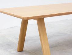 Huset Stelvio Natural Oak 280cm X 90cm Dining Table