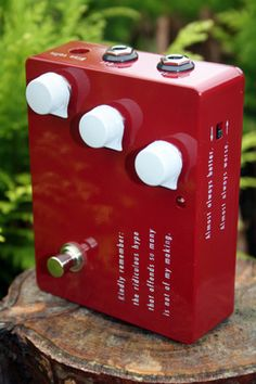 Klon KTR overdrive boost guitar pedal, tone, limited, desired, some would say the finest mild overdrive guitar pedal ever made.