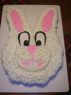 Bunny Face Cup Cake Cake