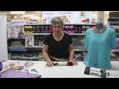 Tutorial de cachecol com Cisne Versa - YouTube
