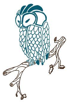 Owl Tattoo by zilfana.deviantart.com