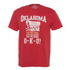 Majestic Adults' University of Oklahoma Section 101 Local Tradition T-shirt