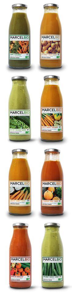 Soupes bio artisanales de Provence - Marcel Bio Soupe bio de potimarron, poire…
