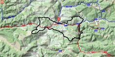 [Aude] Le Fauteuil du Diable de Couiza Pir2 nous guide jusqu'au Fauteuil du Diable.  Une première partie roulante via les pistes de Fa pour grimper sur le plateau de la Bouichère et sa jolie descente.  Le cap vers Bugarach apporte les trésors de Rennes-le-Château et des bois enchantés de Rennes-les-Bains.  Le retour à partir de Serres offre un final très roulant.  Le départ s'effectue du parking du terrain de rugby devant le château des ducs de Joyeuse.  Km 6, la chapelle de Croux annonce la…