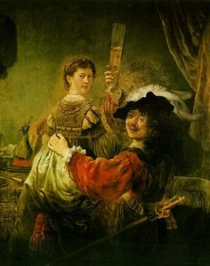 The Prodigal Son Wastes his Inheritance - Rembrandt Harmensz. van Rijn http://www.