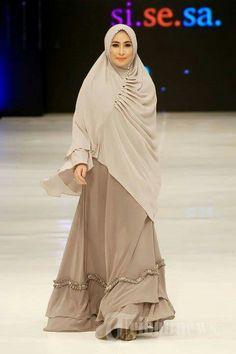 Beautiful gamis n purdah