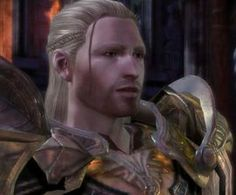 Cailan Theirin (born 9:05 Dragon) son of King Maric Theirin and Queen Rowan Guerrin, became the King of Ferelden after the sudden disappearance of his father in 9:25 Dragon. During the opening stages of the Fifth Blight, he has been sitting on the throne for five years, alongside his wife Queen Anora Mac Tir, daughter of the hero Loghain Mac Tir.