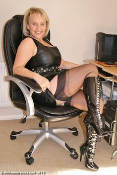 nylons boots porn Michelle