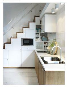 Ikeakök och smart trappa