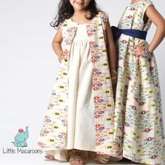 Kids Ramadhan Clothing. by (@littlemacaroons) Baby Summer Dresses, Wedding Flower Girl Dresses, Girls Casual Dresses, Modest Dresses, Kids Kaftan, Morrocan Dress, Navratri Dress, Baby Dress Patterns, Arab Fashion