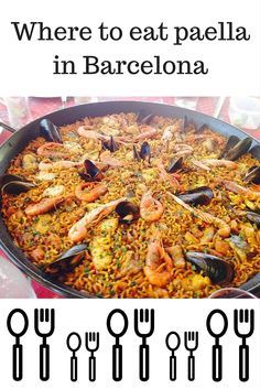 Sitting down to a steaming dish of paella is a staple to anyone's visit to Spain! Read about our top five restaurants for paella in Barcelona! Barcelona Spain Travel, Barcelona Food, Barcelona Restaurants, Barcelona Tourist, Visit Barcelona, Paella, Tapas, Vicky Christina Barcelona, Spain And Portugal