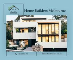 Are you looking for house builders in Melbourne? Mel builders offer reliable construction & renovation services at best price. Build your home dream today. Contact Building contractors at 1800902201 Home Builders Melbourne, Best Home Builders, Melbourne House, Construction Contractors, Building Contractors, Looking For Houses, New Home Construction, Ideal Home, Building A House