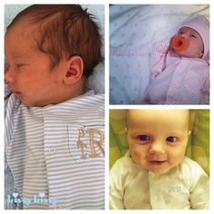 What could make Kissy Kissy's Peruvian Pima Cotton baby clothes sweeter? Your baby's name, of course. #monogram