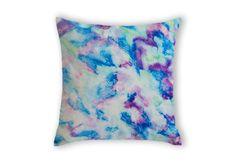 The Flock, Lovely Ebi Emporium #velveteen #throwpillow #cushion #pillow in #Australia, #fineart #bedding #pink #purple #plum #pastel #pale #soft #turquoise #mint #blue #green #seafoam #cyan #cerulean #royalblue #purple #radiant #orchid #waves #birds #ocean #clouds #pattern #ikat #organic #design #home #decor #decorative #bedroom #accessories #colorful #colourful #whimsical #feminine #pretty #elegant #sweet #shabbychic #chic #beach #sea #coastal