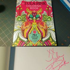 #happymail today....I guess I know what I'll be doing later tonight... Thank you @ihearttulapink  #coloringbook #gettingmymojoon