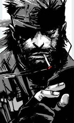 Vic Boss. Metal Gear Solid Peace Walker.