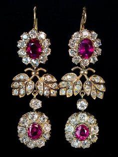 Antique Russian earrings