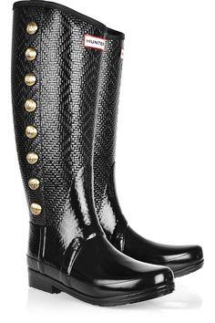 Hunter Regent Grosvenor embellished Wellington boots