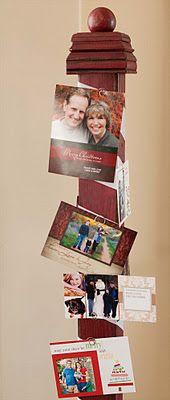 Chritmas card (north pole) display & 5 free printable christmas cards
