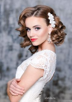 Wedding Hairstyles with Pure Elegance - Hairstyle: Elstile