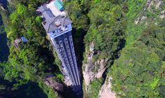 Would YOU ride the worlds tallest outdoor GLASS elevator?