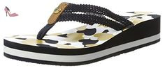 Tommy Hilfiger R1285iri 10d, Sandales Bout Ouvert Femme, Bleu (Midnight 403), 39 EU - Chaussures tommy hilfiger (*Partner-Link)